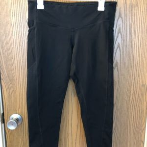 Cropped leggings with pockets